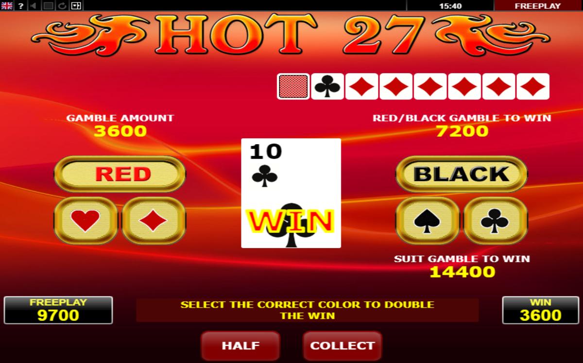 риск-игра слот hot 27